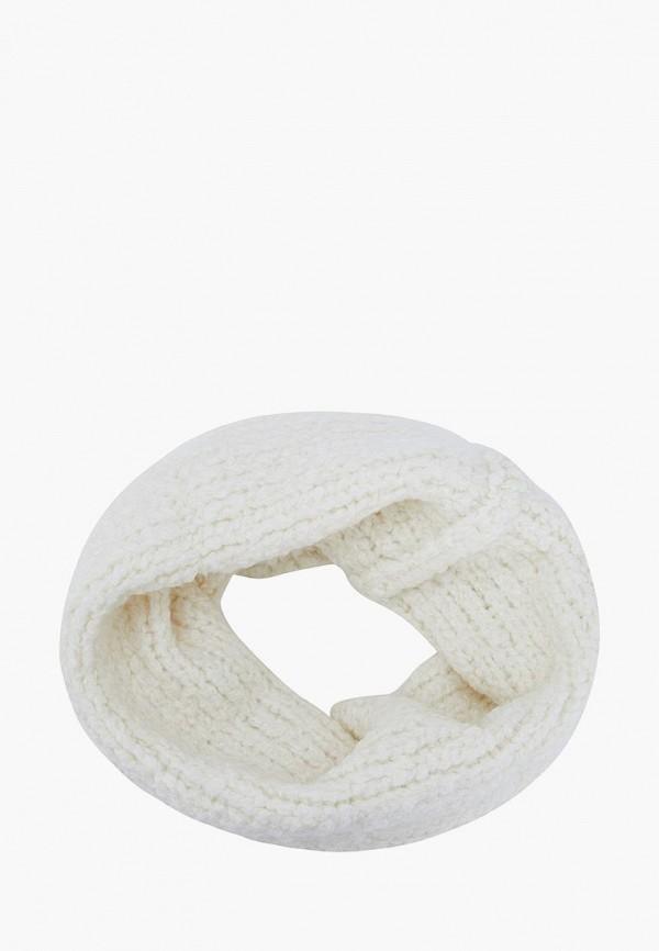 женский снуд forti knitwear, белый