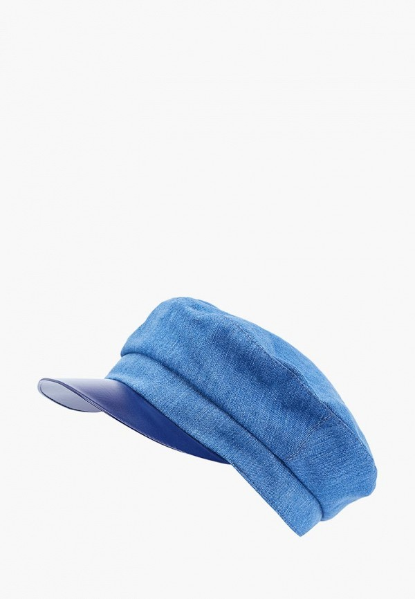 женская кепка forti knitwear, голубая