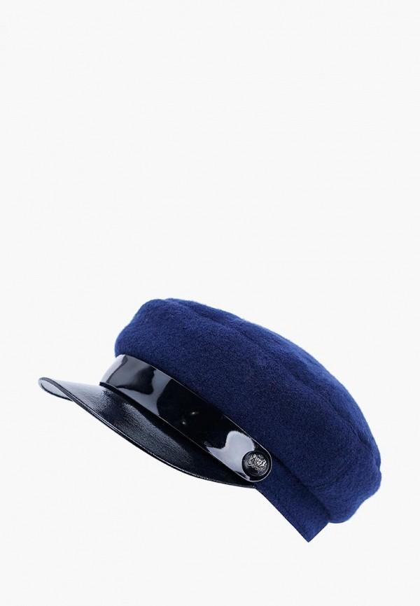 женская кепка forti knitwear, синяя