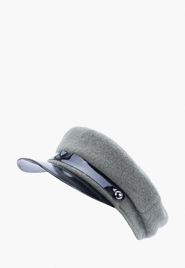 женская кепка forti knitwear, серая