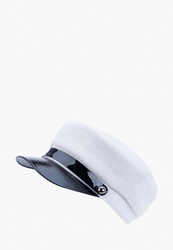 женская кепка forti knitwear, белая