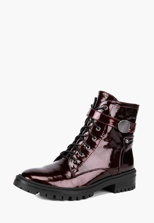 женские ботинки lisette, бордовые