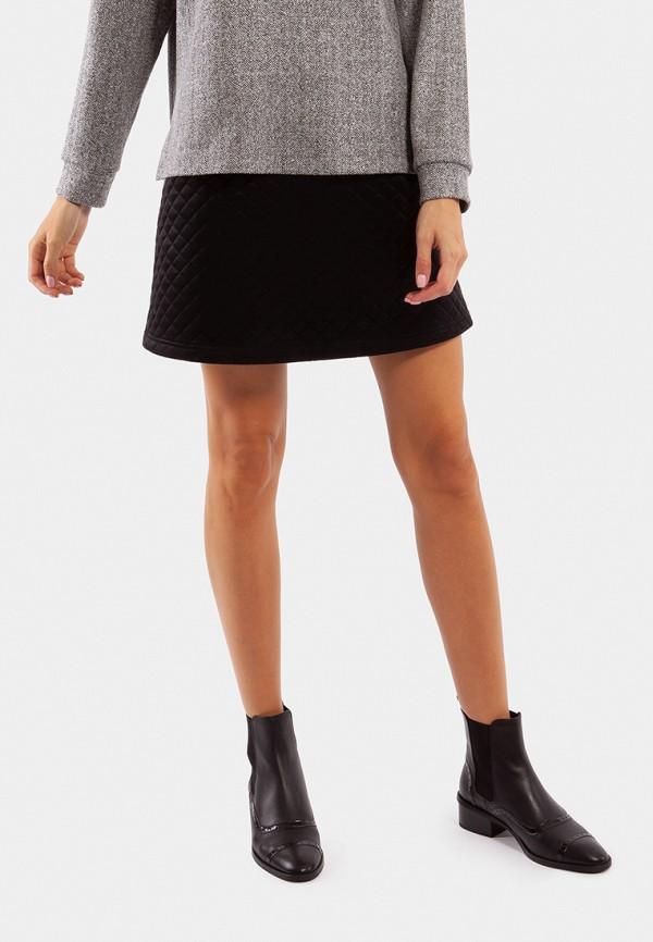 женская юбка vladi collection, черная