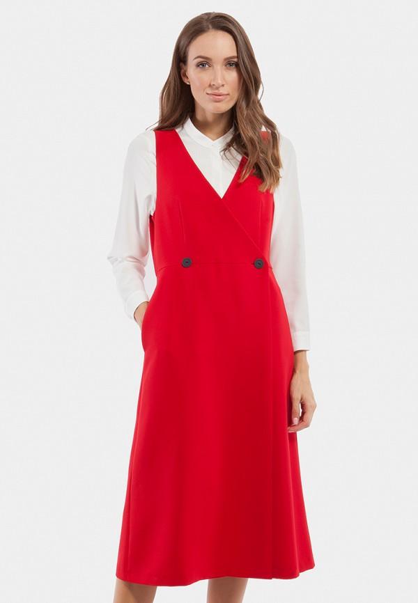 женское платье vladi collection, красное