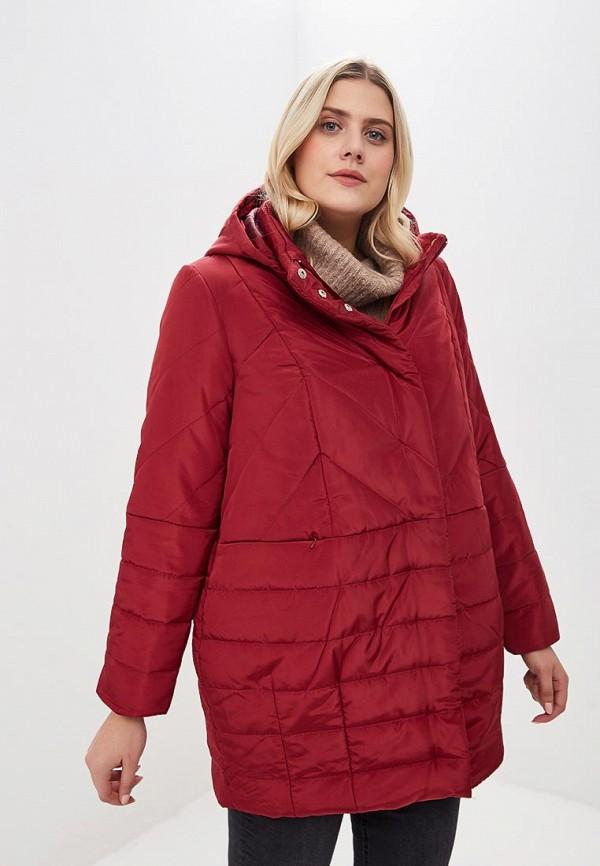 женская куртка jp, бордовая