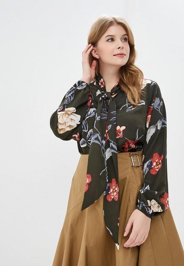 женская блузка jp, хаки
