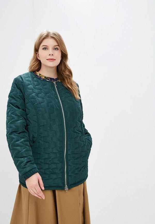 женская куртка jp, зеленая