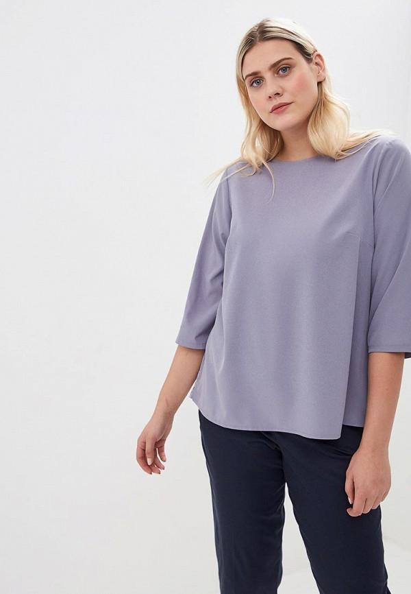 женская блузка jp, фиолетовая