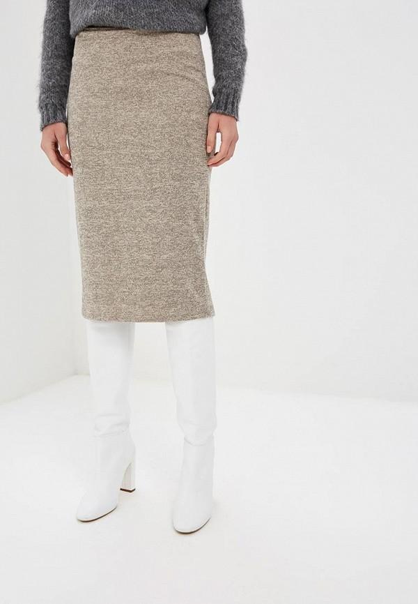 женская зауженные юбка alina assi, бежевая