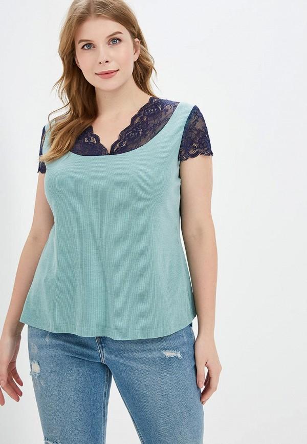 женская футболка jp, зеленая