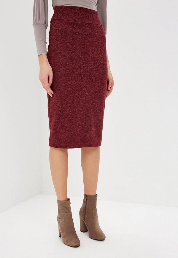 женская зауженные юбка alina assi, бордовая