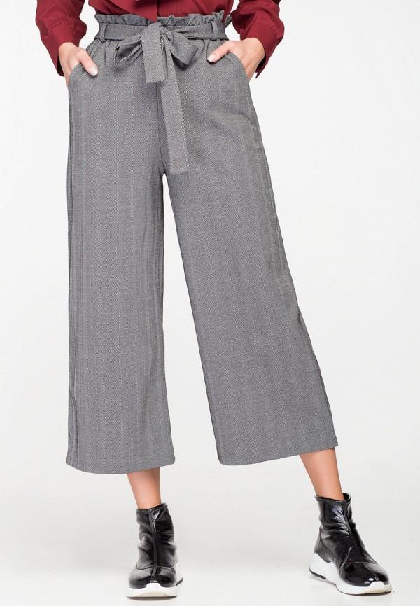 женские брюки itelle, серые