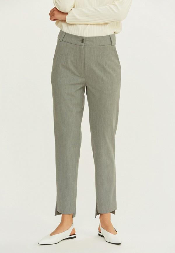 женские классические брюки base forms, серые