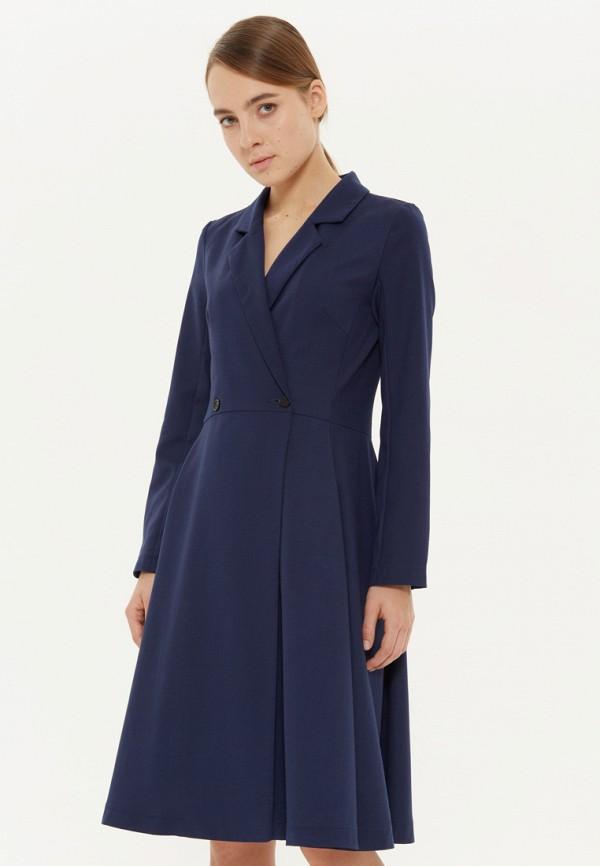 женское платье base forms, синее