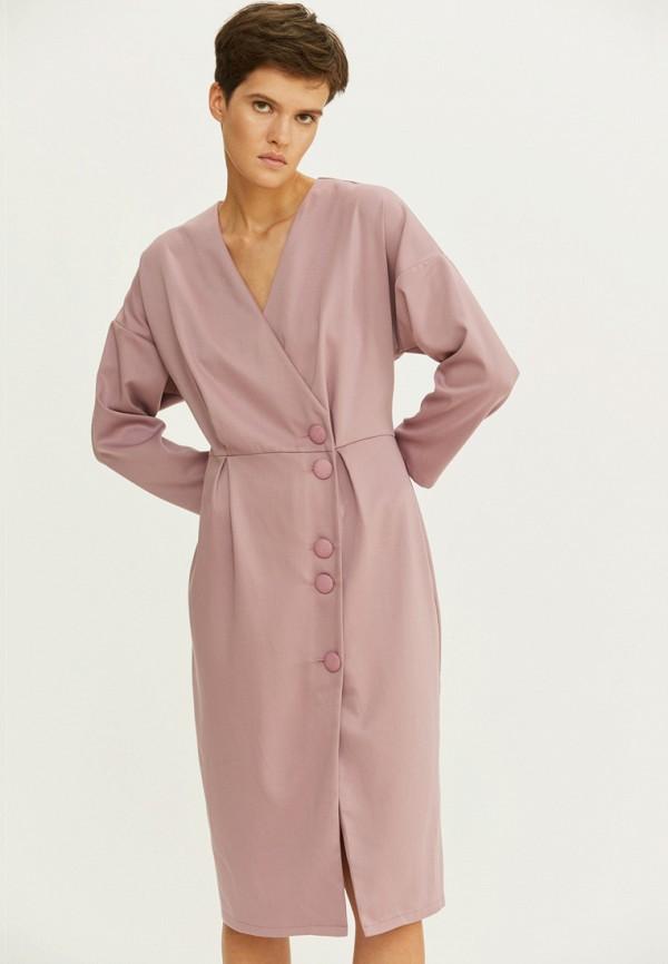 женское платье base forms, розовое