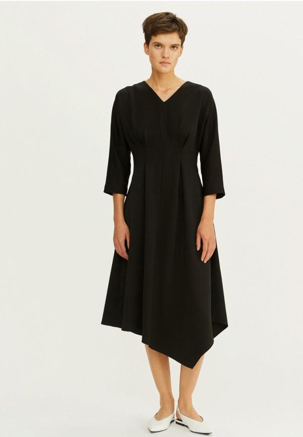 женское повседневные платье base forms, черное