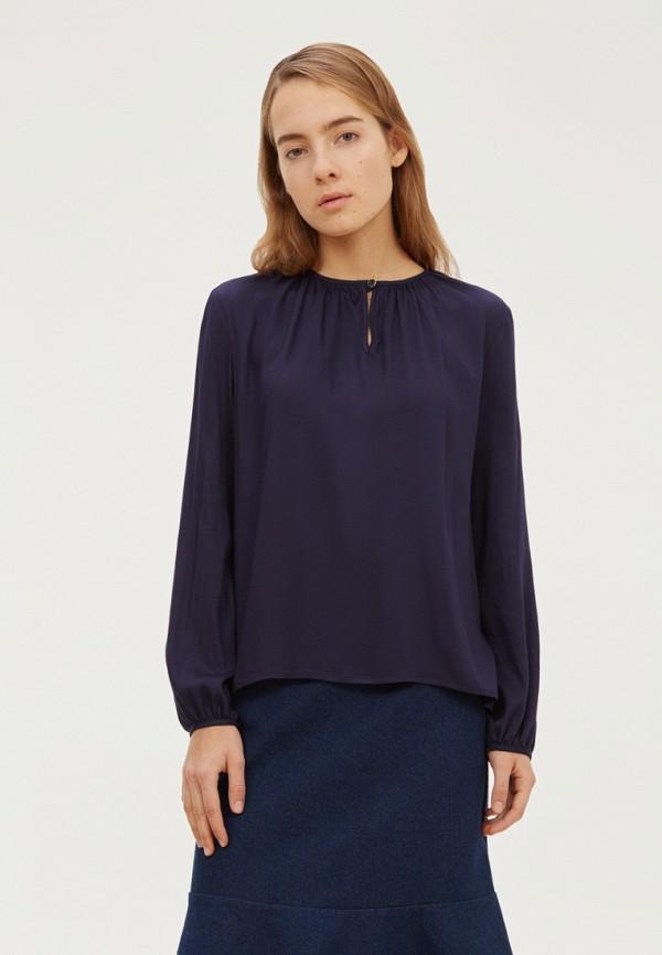 женская блузка base forms, синяя
