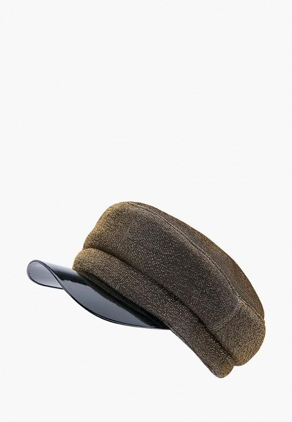 женская кепка forti knitwear, золотая