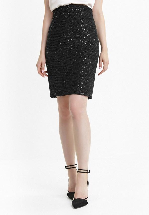 женская прямые юбка audrey right, черная