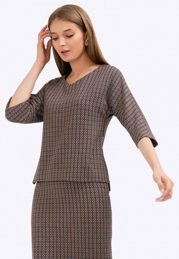 женская блузка emka, разноцветная