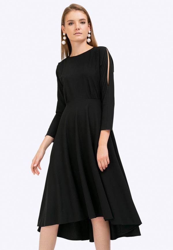 женское вечерние платье emka, черное