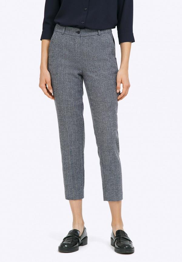 женские зауженные брюки emka, серые