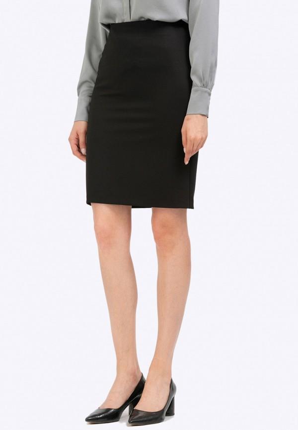 женская прямые юбка emka, черная
