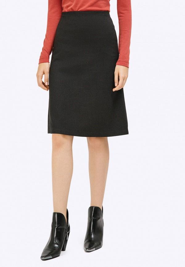 женская юбка emka, черная