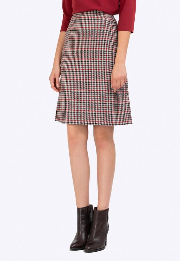 женская прямые юбка emka, разноцветная