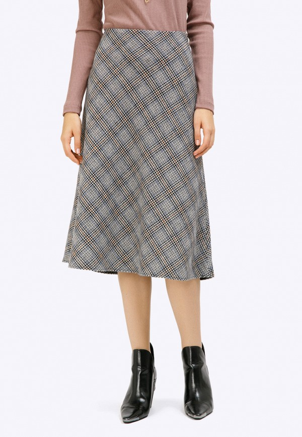 женская юбка emka, серая
