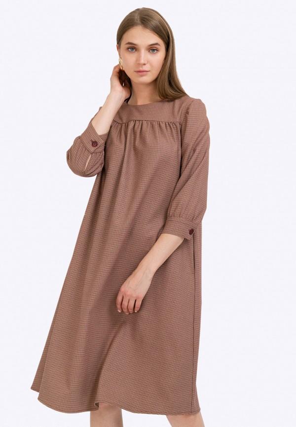 женское повседневные платье emka, разноцветное