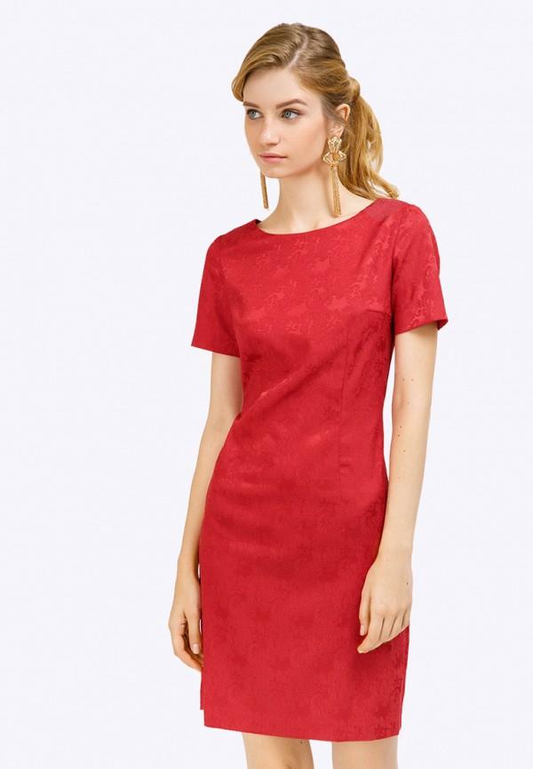 женское вечерние платье emka, красное