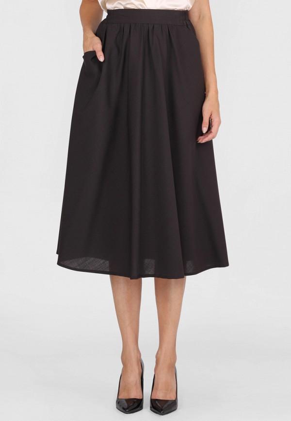 женская юбка panove, коричневая