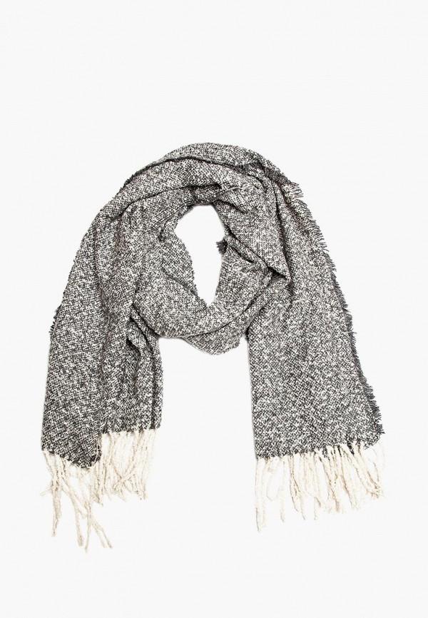 Купить Палантин Aiyony Macie, mp002xw1hanx, серый, Осень-зима 2018/2019