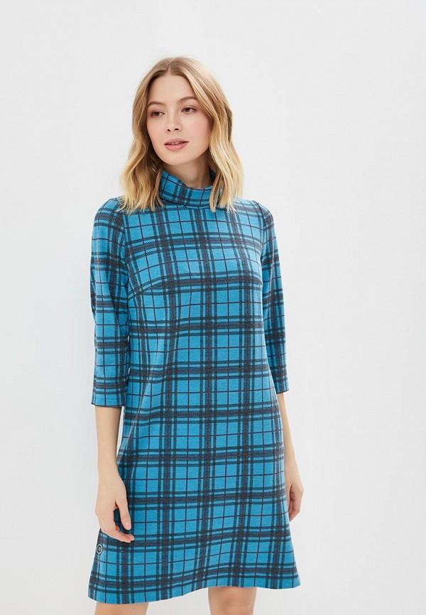 женское повседневные платье gregory, голубое