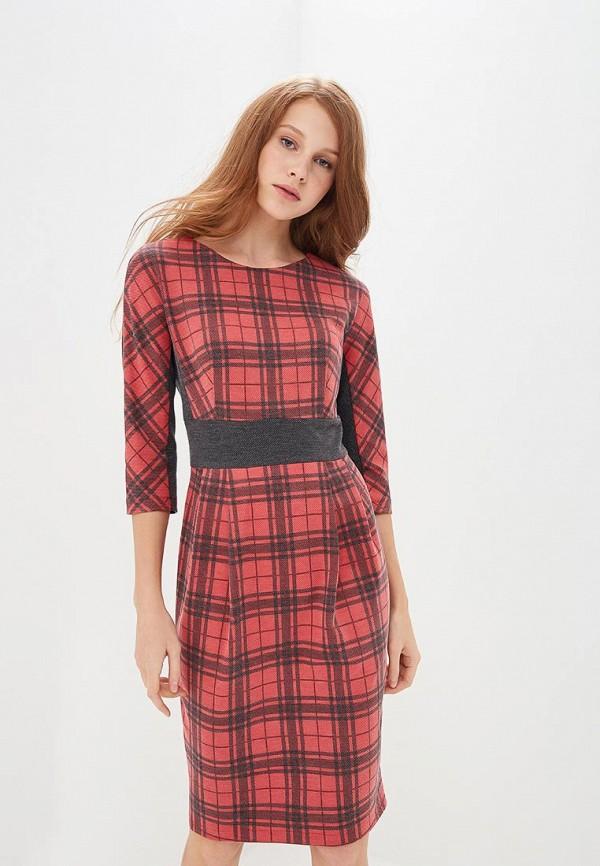 женское платье-футляр gregory, красное