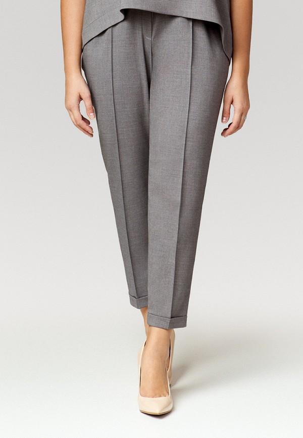 женские зауженные брюки ummami, серые