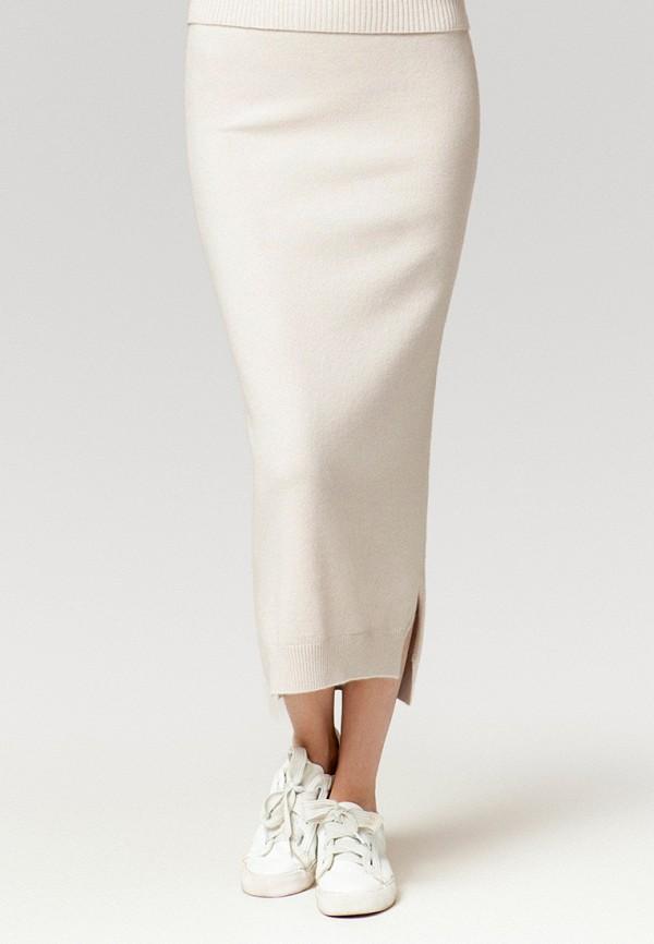 женская прямые юбка ummami, бежевая