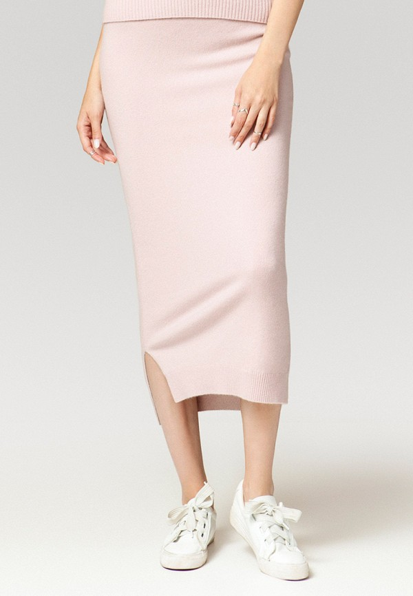 женская прямые юбка ummami, розовая