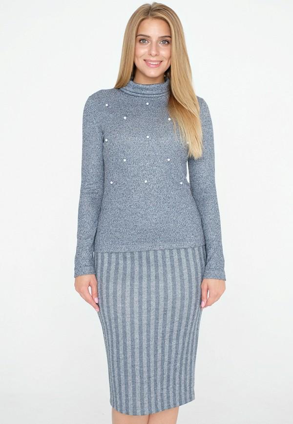женский костюм eliseeva olesya, голубой