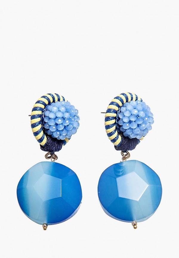 Купить Серьги Kameo-Bis синего цвета