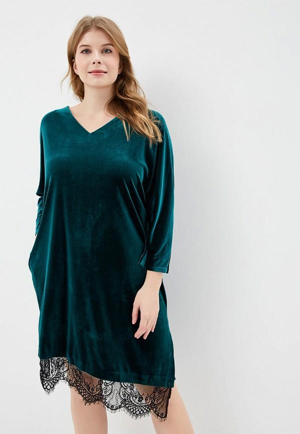 женское вечерние платье svesta, зеленое