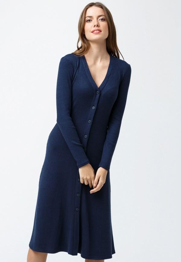 женское повседневные платье oks by oksana demchenko, синее