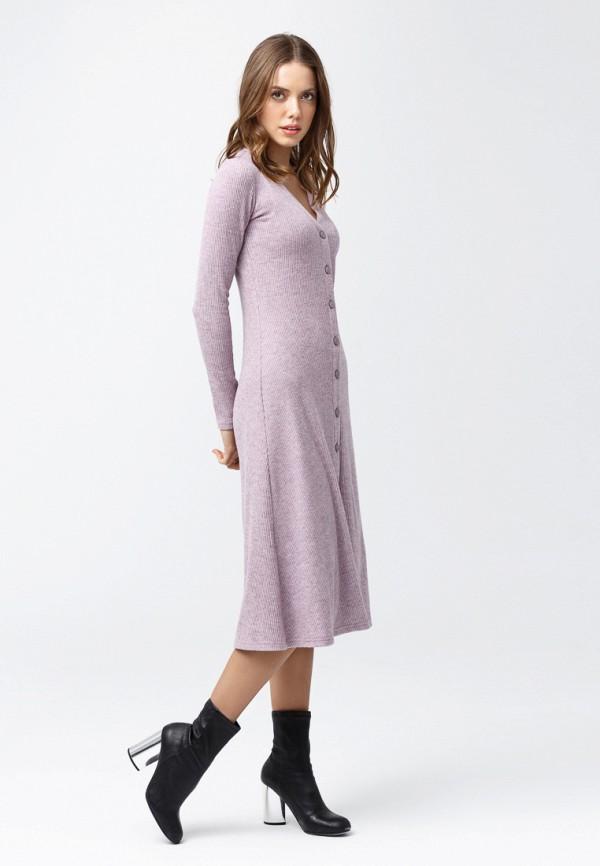 женское повседневные платье oks by oksana demchenko, розовое