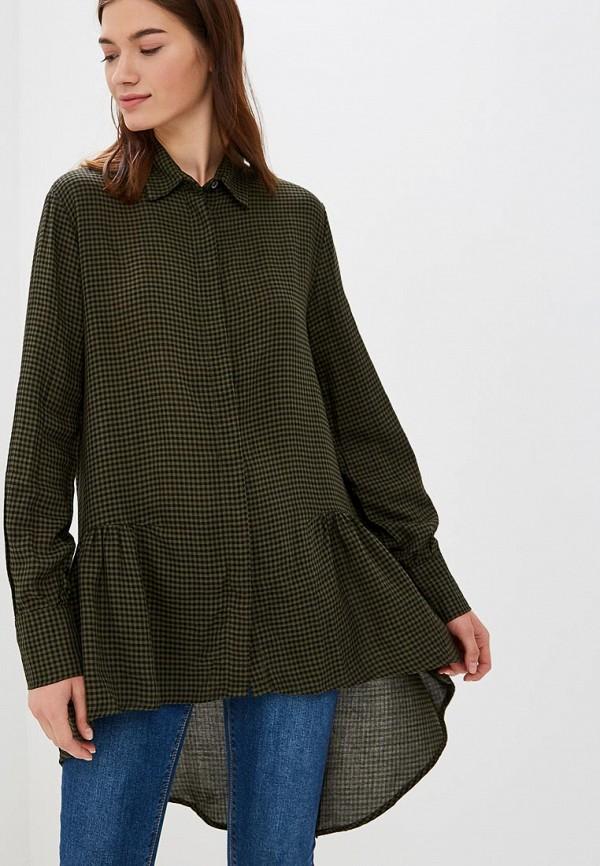 женская блузка colin's, зеленая