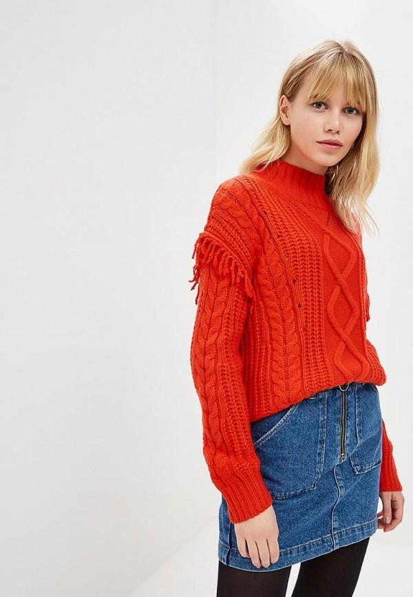 женский свитер colin's, красный
