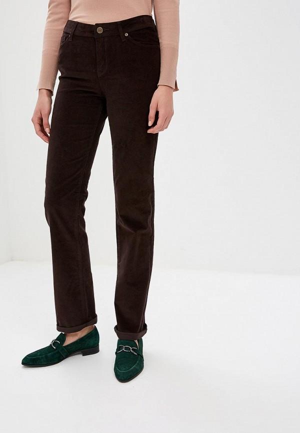 женские повседневные брюки colin's, коричневые