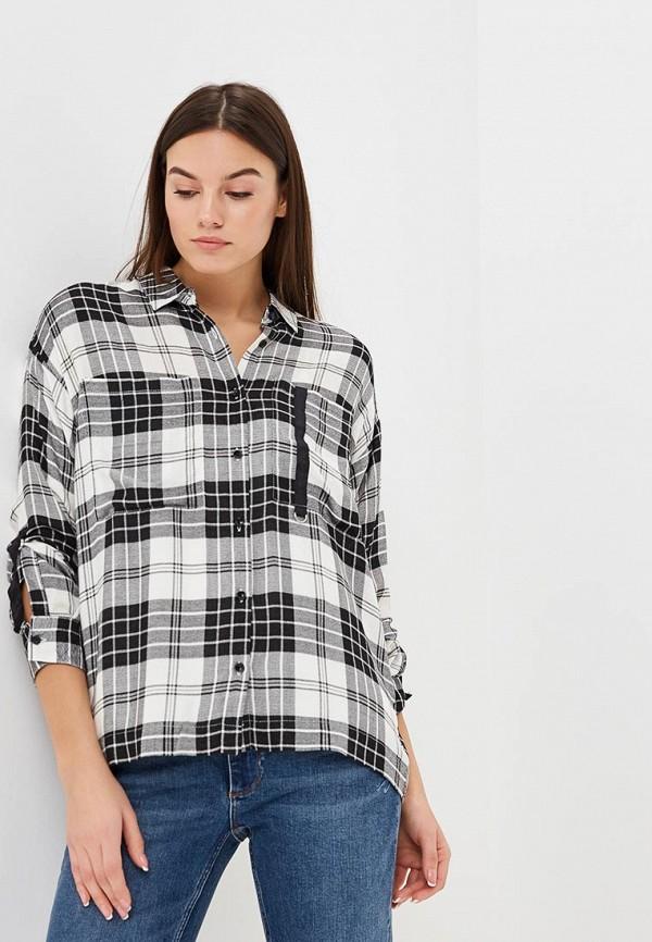 женская рубашка с длинным рукавом colin's, серая