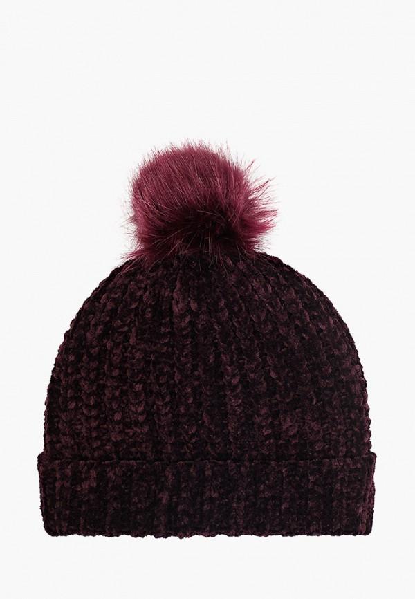 женская шапка colin's, фиолетовая