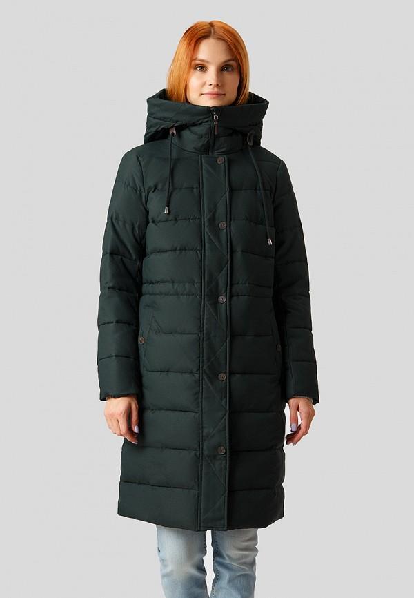 Купить Куртка утепленная Finn Flare, mp002xw1hbq8, зеленый, Осень-зима 2018/2019